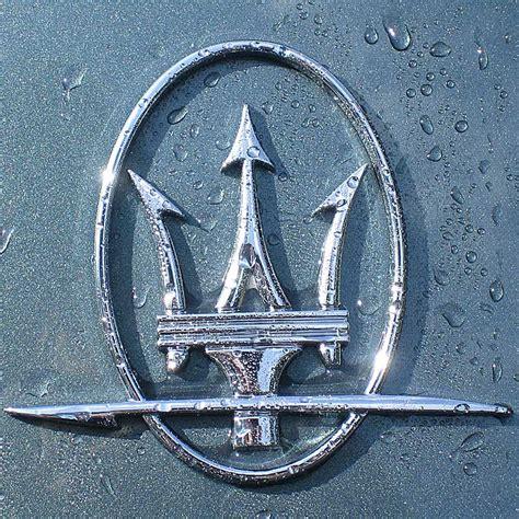 maserati blue logo car logos the archive of car company logos