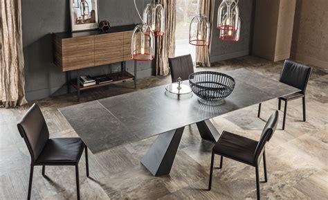 tavoli in cristallo allungabili cattelan complementi cattelan italia romanoni arredamenti pavia