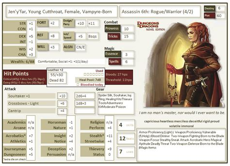 d d 3 5 templates d d 5th edition character sheet feedback page 4
