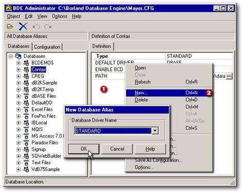 Tutorial Bde Delphi | borland database engine odbc driver