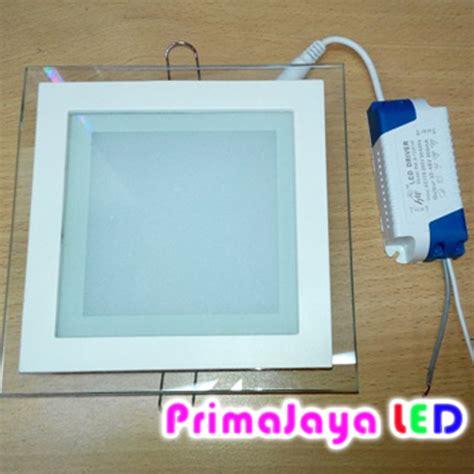 Fantas Downlight Led Panel Kaca 12 Watt Kotak White led downlight kotak kaca