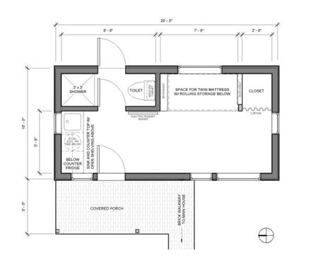 adu floor plans adu floor plan exteriors pinterest