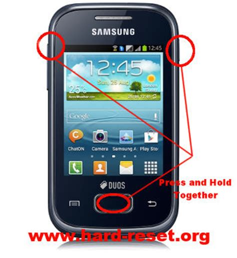 reset hard samsung galaxy young how to easily master format samsung galaxy y plus gt s5303