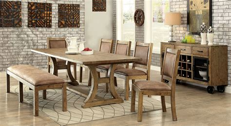 industrial style dining table set industrial style 6 dining table set