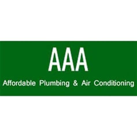 Aaa Plumbing Aaa Affordable Plumbing Air Conditioning Heating Air