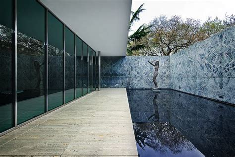 Pavillon Mies Der Rohe by The Barcelona Pavilion By Mies Der Rohe