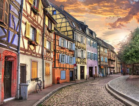 Blue City Morocco Fairytale Town Of Colmar France Tails Of Wonders