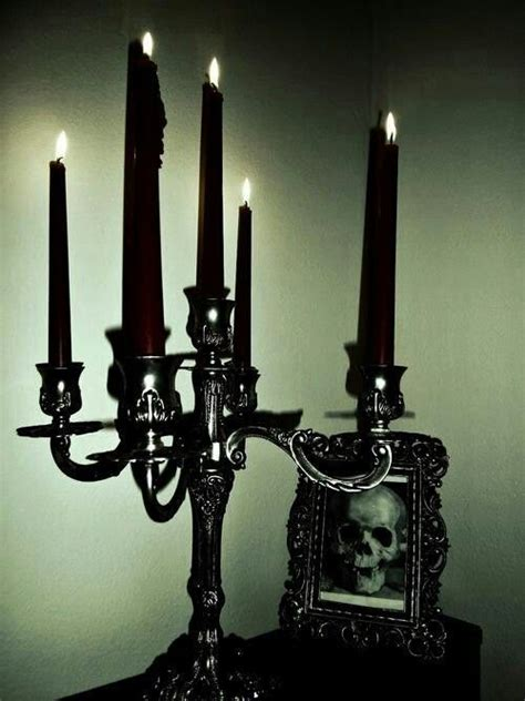 Home Interiors Candle Holders black candles my gothic crave pinterest