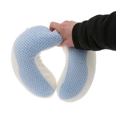Cool Gel Neck Pillow cool gel ufo neck travel pillow gel and soft memory foam pillow