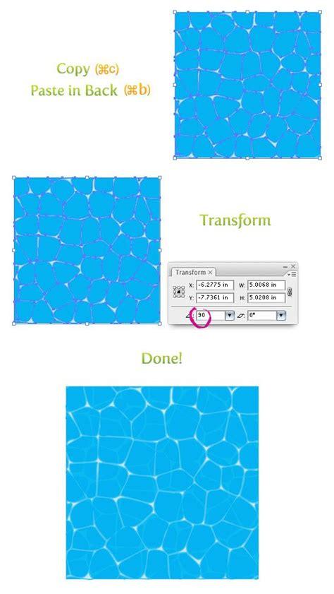 illustrator texture pattern tutorial create water texture in illustrator tutorial 2d design