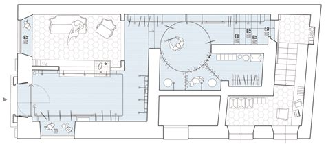 boutique floor plan il salotto boutique by gosplan