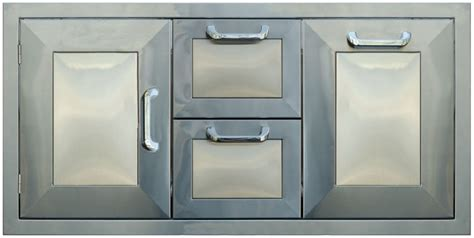 Bbq Doors And Drawers by Pcm Bbq Island 42 226 Combo Unit 2 Drawers 2 Doors Stainless