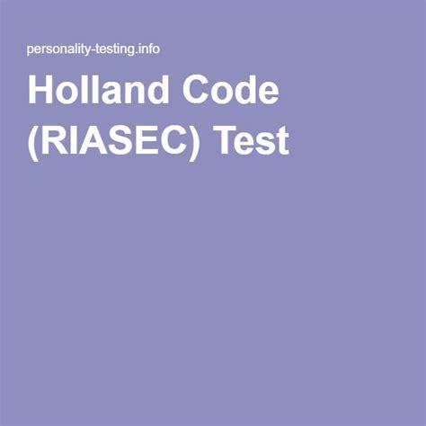 Riasec Model Test