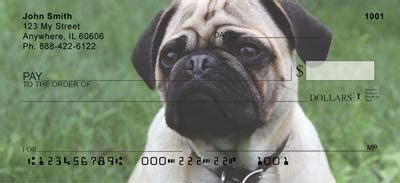 precious pugs precious pugs checks precious pugs personal checks