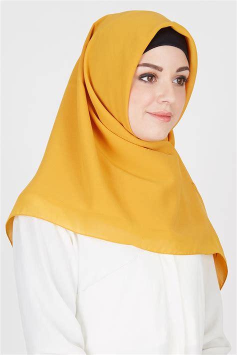 Jilbab Segi Empat Squre Rubi sell jilbab segi empat mustard square hijabenka