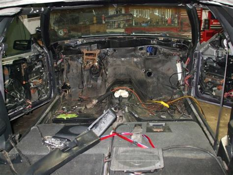 1965 Mustang Auto To Manual Conversion by 1983 Ford Mustang Gt Carb To Fuel Injection Conversion