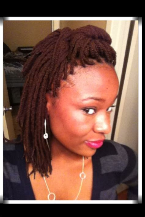 wool hair style yarn braids posh district