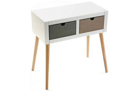 Merveilleux Table De Chevet Pas Chere #1: chevet-blanc-2-tiroirs20630014_680x450.jpg