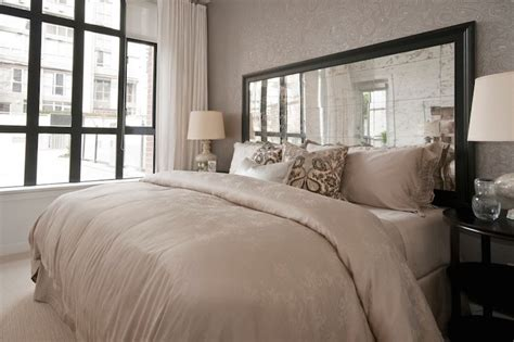 Mirrored Headboards by 20 Stunning Mirrored Headboard Designs