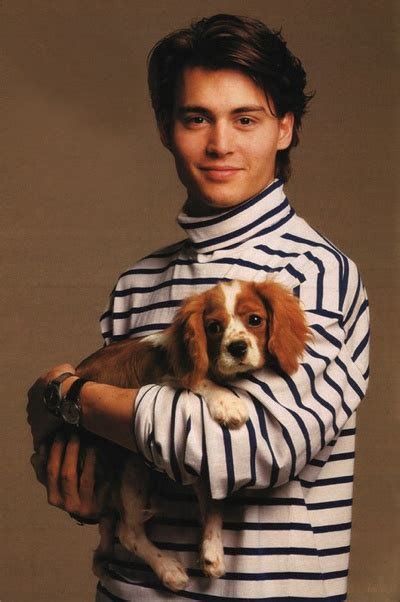 And Gentlemen Sweater johnny depp with in a striped turtleneck sweater yeah and gentlemen