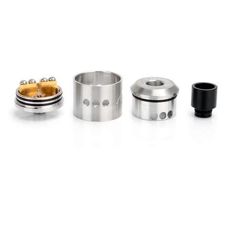 Goon Rda 22 Mm goon silver 22mm rda rebuildable atomizer w 510 drip tip