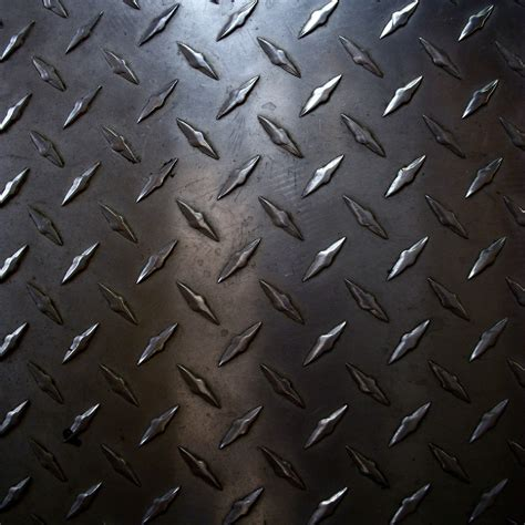 metal pattern name rough diamond plate metal worn plate metal on the floor
