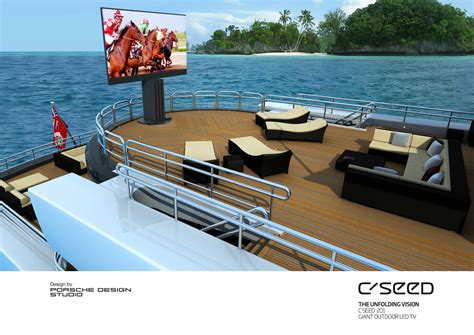 Porsche C Seed by C Seed The World S Largest Outdoor Tv Home Automation