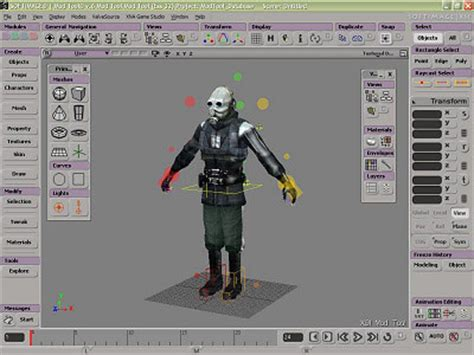 free software modeling tools 3d animation