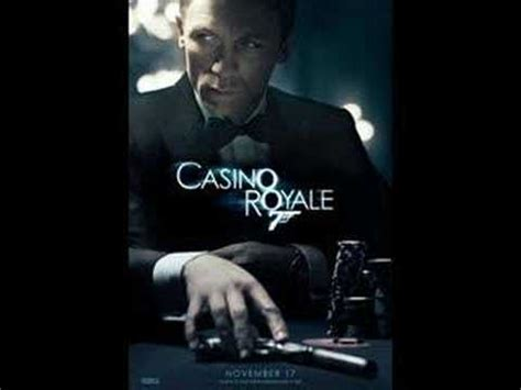 james bond casino royale theme quot you know my name quot youtube