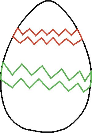 easter egg cut outs clipart