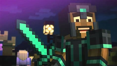 ps3 themes minecraft story mode minecraft story mode trailer breakdown first gameplay