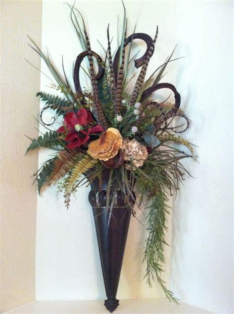 Flower Wall Sconces 30 Best Images About Pheasant Feather Decor On Pinterest Floral Arrangements Centerpieces And