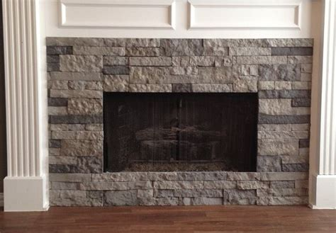 airstone on a fireplace surround easy diy product