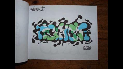 graffiti blackbook  art sketches characters throw