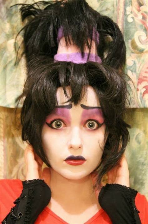 lydia deetz hairstyle lydia deetz hairstyle lydia beetlejuice makeup test by