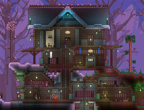 winter house   Terraria Builds