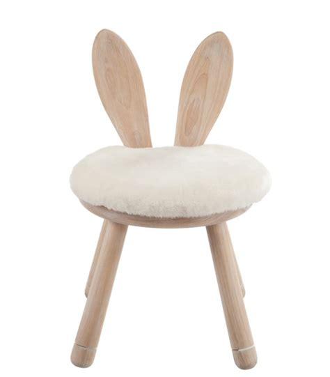 chaise enfant en bois chaise enfant en bois oreilles de lapin