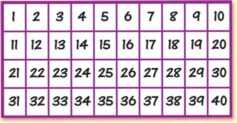 printable numbers 1 40 image gallery numbers 1 40