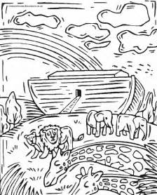noah and the ark coloring page free coloring pages of noahs ark