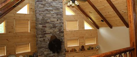 log homes with open floor plans gingrich builders