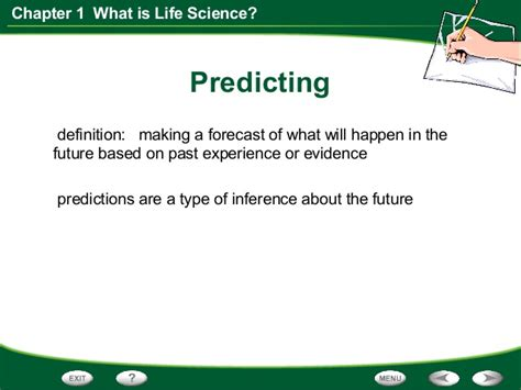 scientific biography definition life science chapter 1 section 1 think like a scientist