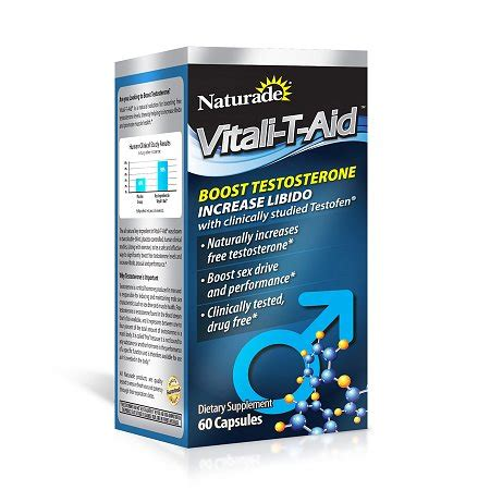 t supplements naturade vitali t aid testosterone booster dietary
