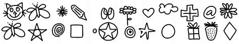 hello doodle print free font font border update hello literacy