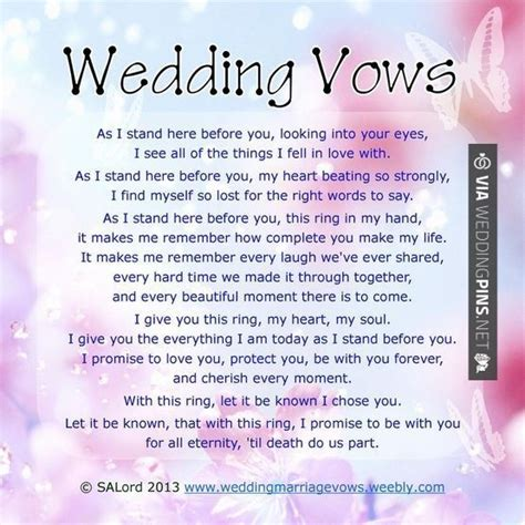 traditional wedding vows christian 1000 ideas about traditional wedding vows on