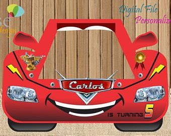 cars photo booth layout selfie frame etsy