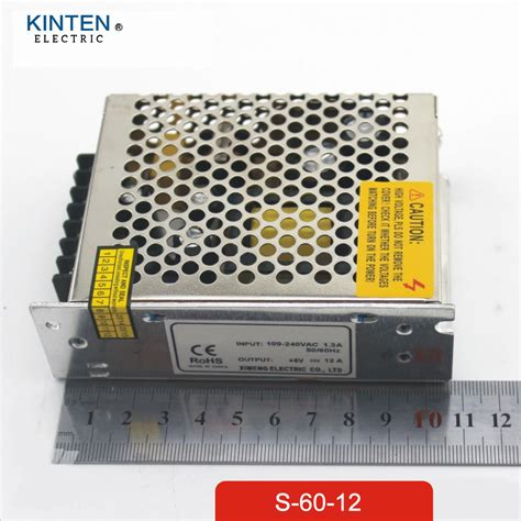 Murah Power Supply Switching 12v Led 5a 60w Garansi 1 Tahun Brilux 60w 12v 5a small volume single output switching power