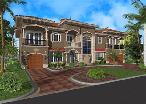 floridian house plans florida style house plans 6009 square foot home 2