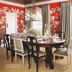 Red Dining Room by Chinoiserie Chic The Red Chinoiserie Dining Room