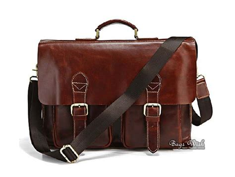 laptop bags leather leather flap briefcase brown luxury leather laptop bag bagswish