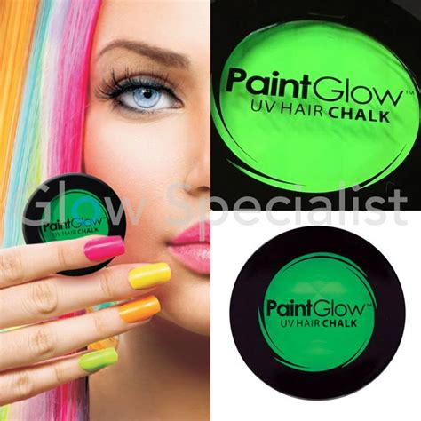 chalk paint your hair paintglow neon hair chalk glow specialist glow specialist